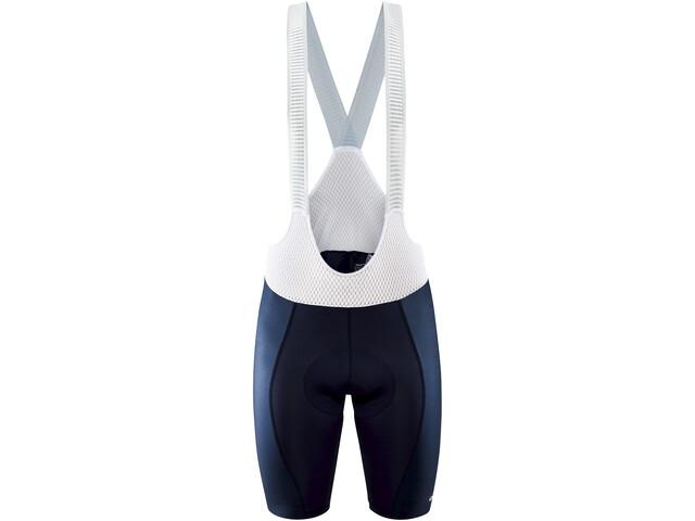 Craft Pro Nano Bib Shorts Men, niebieski/biały